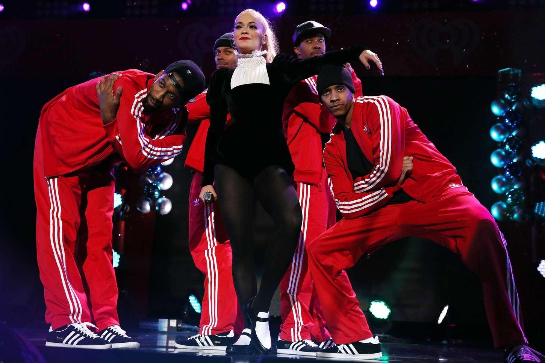 Rita Ora 2014 : Rita Ora: Z100s Jingle Ball 2014 -15
