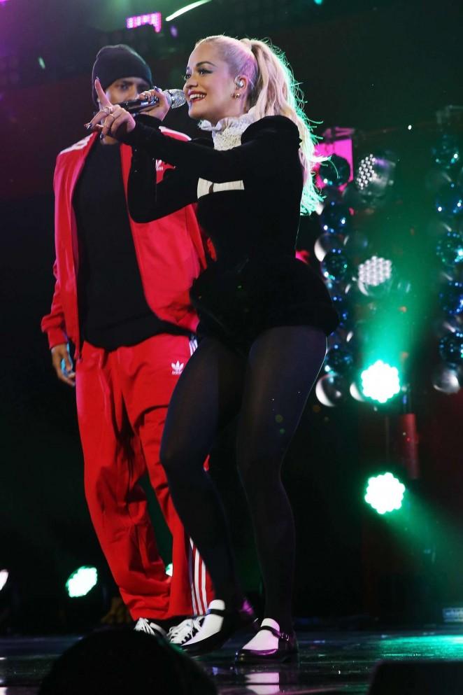 Rita Ora 2014 : Rita Ora: Z100s Jingle Ball 2014 -30