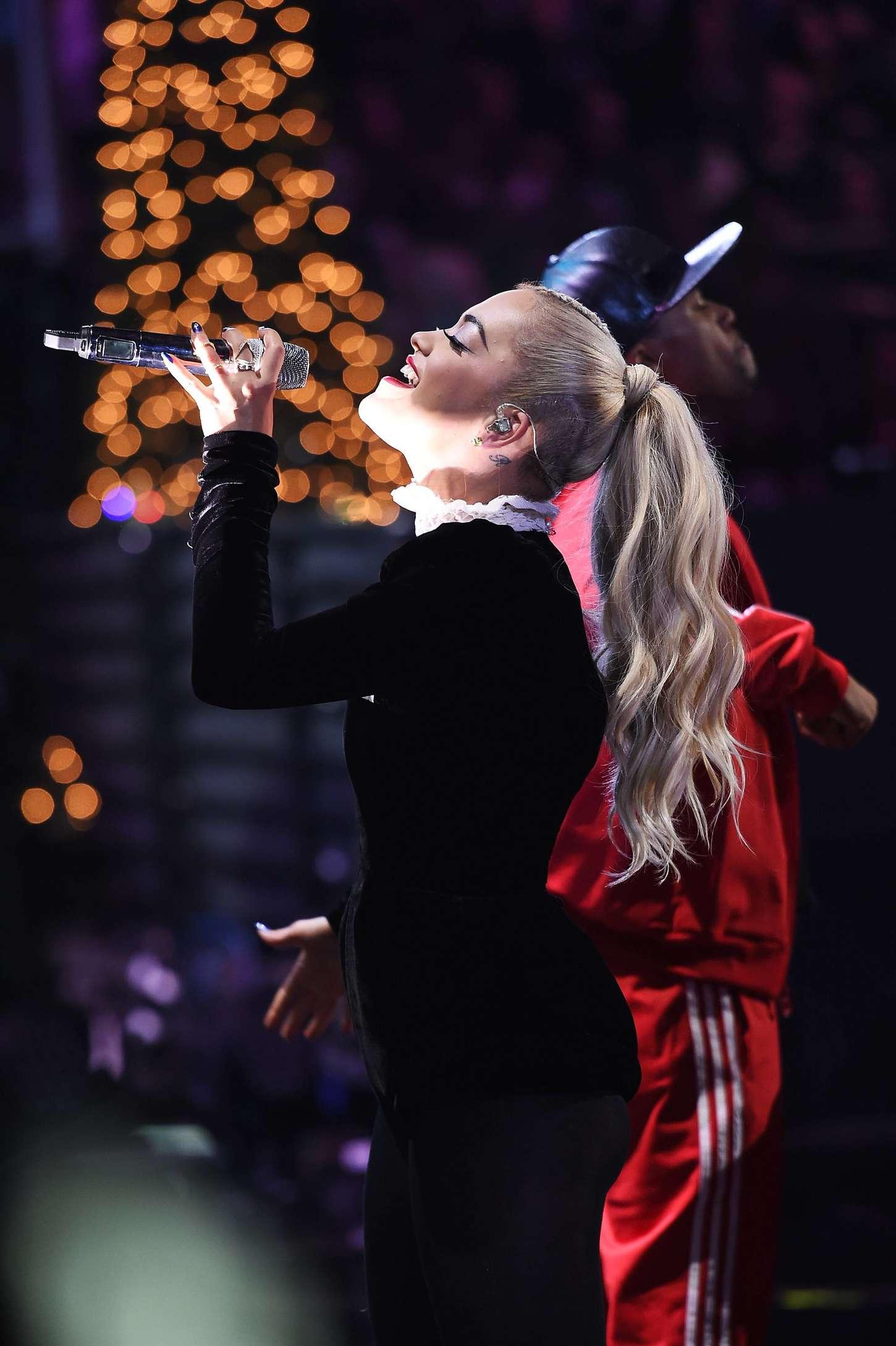Rita Ora 2014 : Rita Ora: Z100s Jingle Ball 2014 -35