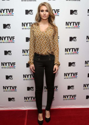 Rita Volk - NY TV Festival panel 'Teenage Wasteland: Navigating High School With The Next MTV Generation' in NYC