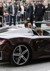 Robert Downey Jr - In Tony Stark's Acura - arrives at The Avengers premiere