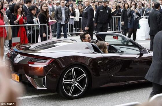 Robert Downey Jr U2013 In $9million Car U2013 Tony Starks Acura U2013 Arrives At The