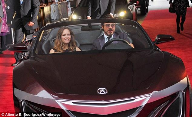 Robert Downey Jr In 9million Car Tony Starks Acura