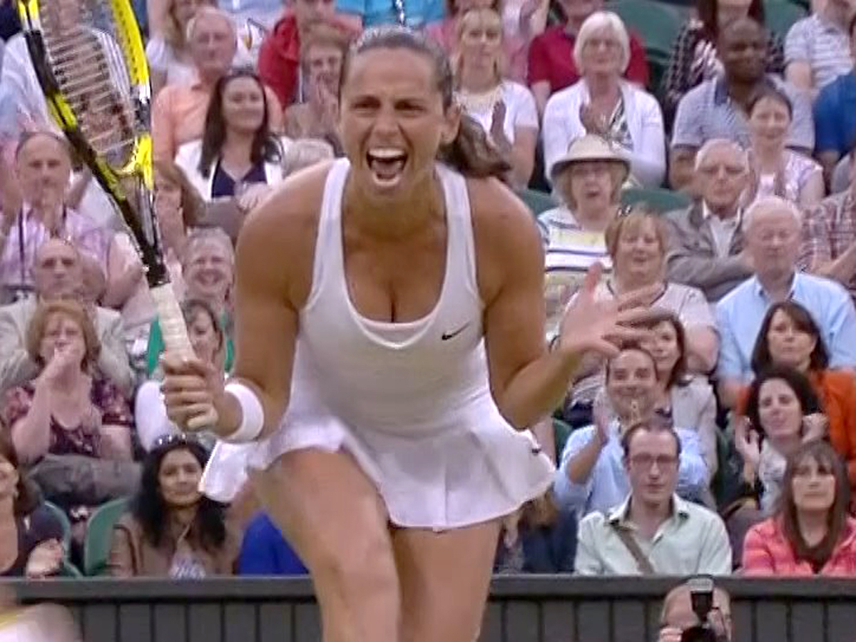 Roberta Vinci 2014 : Roberta Vinci and Sara Errani Celebrating Wimbledon 2014 -03