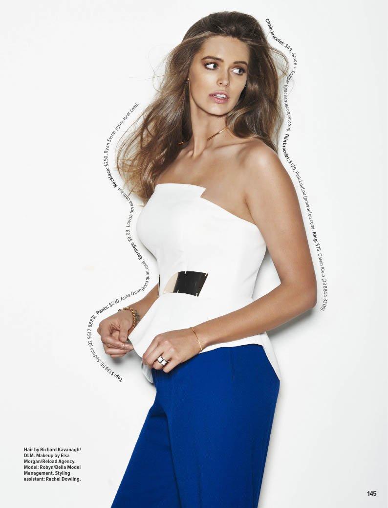 Robyn Lawley: Cosmopolitan Australia -06 - GotCeleb