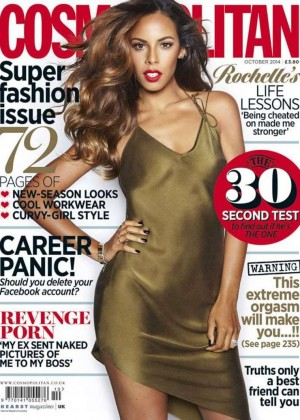Rochelle Humes - Cosmopolitan UK Magazine (October 2014)