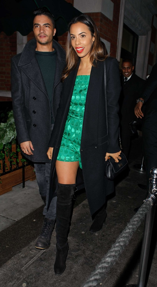 Rochelle Humes - Love Magazine Christmas Party in London