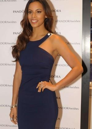 Rochelle Humes - Pandora Jewellers Event in Birmingham