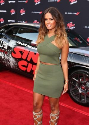 """Rocsi Diaz - Premiere """"Sin City A Dame To Kill For"""" in LA"""