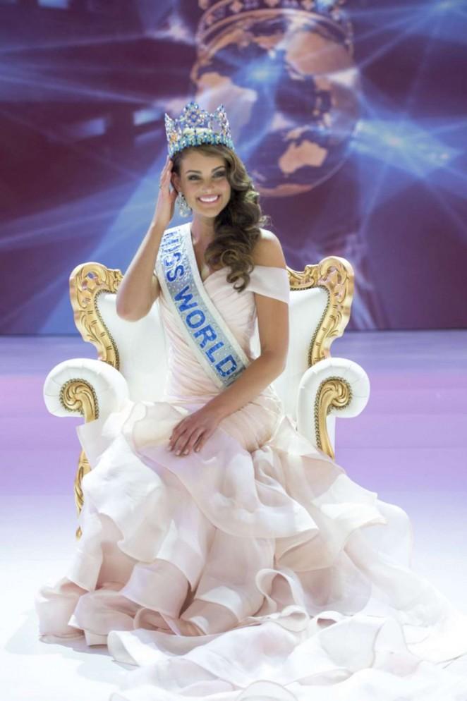 Rolene Strauss - Miss World 2014 Ceremony in London