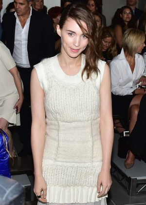Rooney Mara - Calvin Klein Collection Fashion Show in NYC