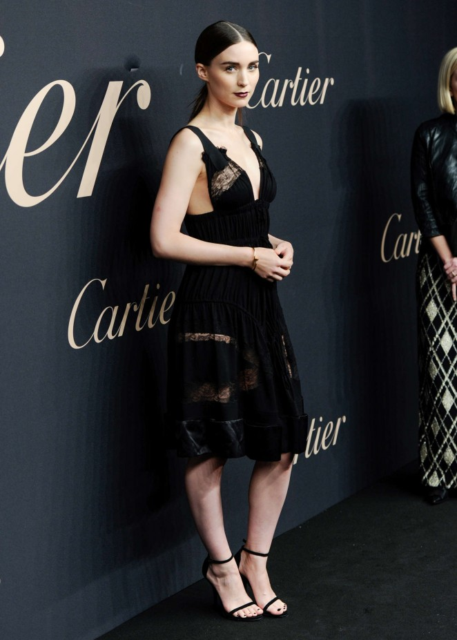 Rooney Mara - Panthere de Cartier Collection Dinner & Party in NY