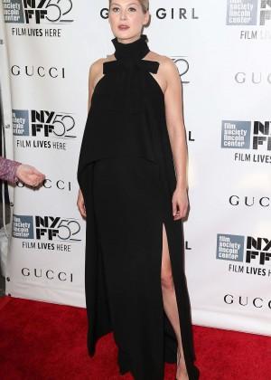 "Rosamund Pike - ""Gone Girl"" Premiere in New York"