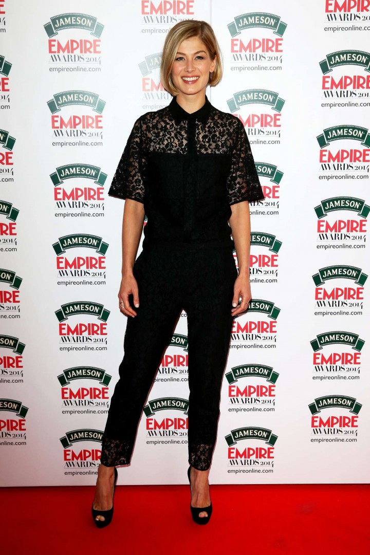 Rosamund Pike – Jameson Empire Awards 2014 in London ...Rosamund Pike 2014