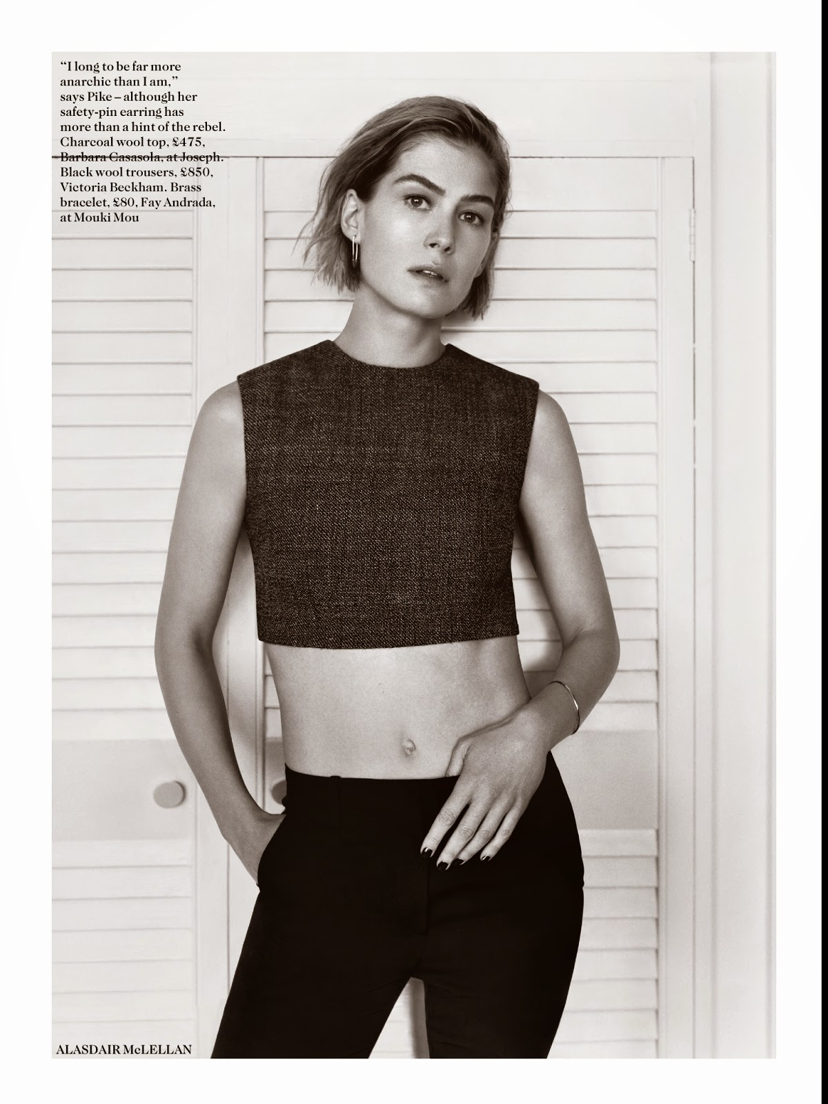 Rosamund Pike: Vogue U...