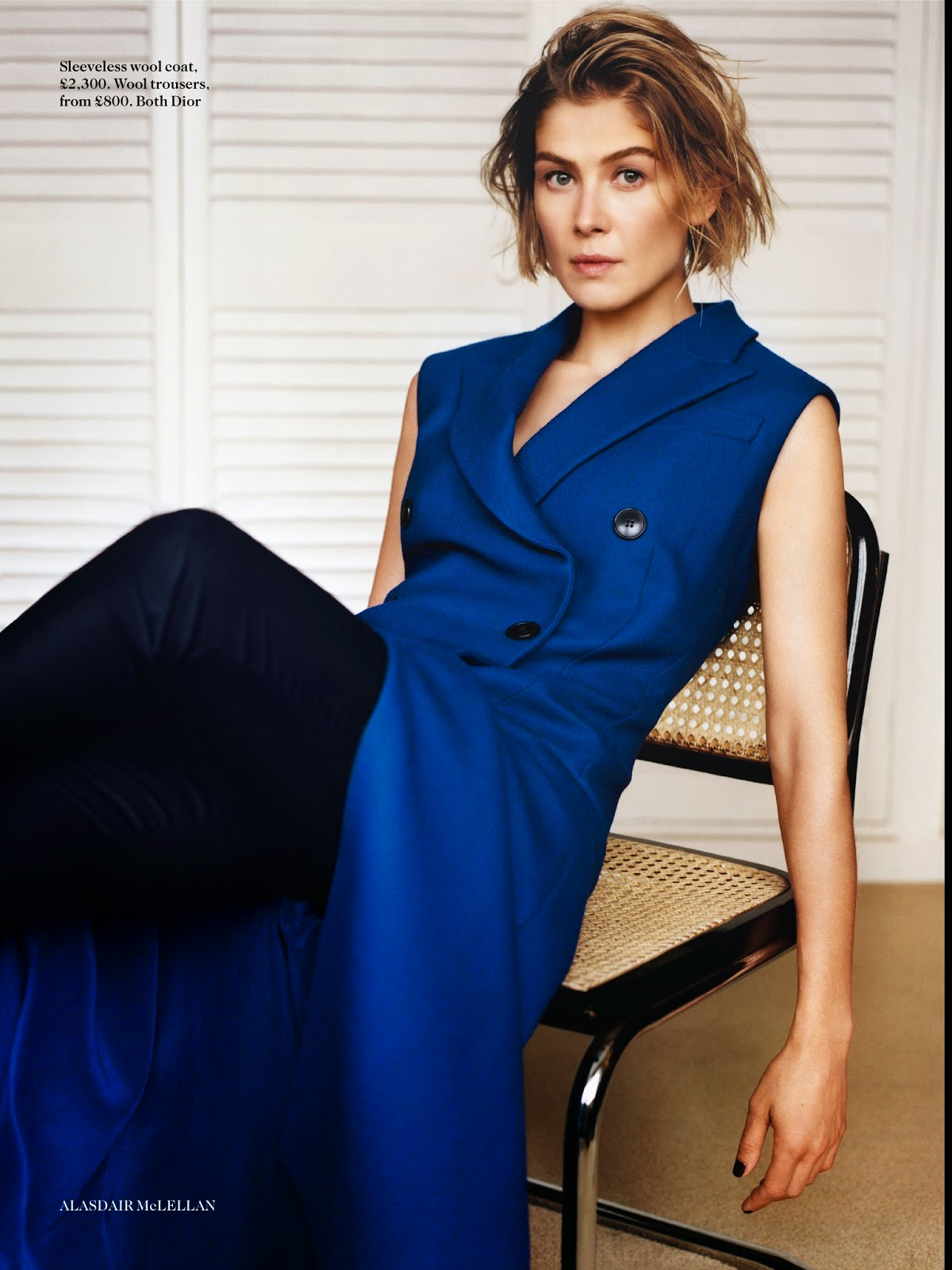 Rosamund Pike: Vogue UK 2014 -07 – GotCelebRosamund Pike 2014