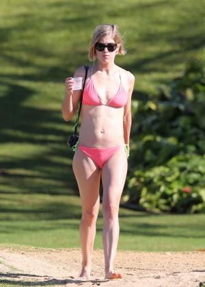 Rosamund Pike Bikini Photos: 2014 Hawaii -03