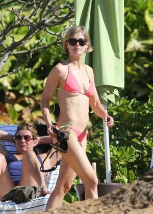 Rosamund Pike Bikini Photos: 2014 Hawaii -18