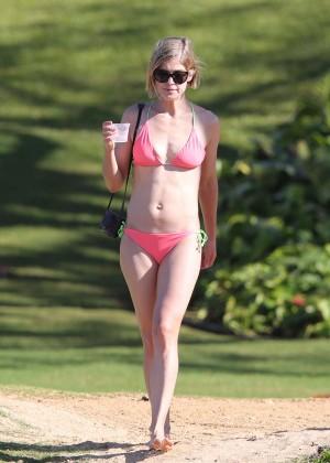 Rosamund Pike Bikini Photos: 2014 Hawaii -21