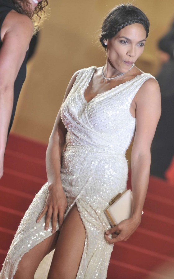Rosario Dawson - As I lay dying Premiere in Cannes -07