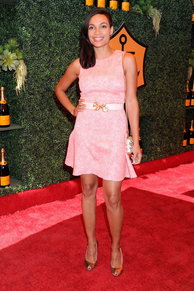 Rosario Dawson - 5th Annual Veuve Clicquot Polo Classic in Pacific Palisades