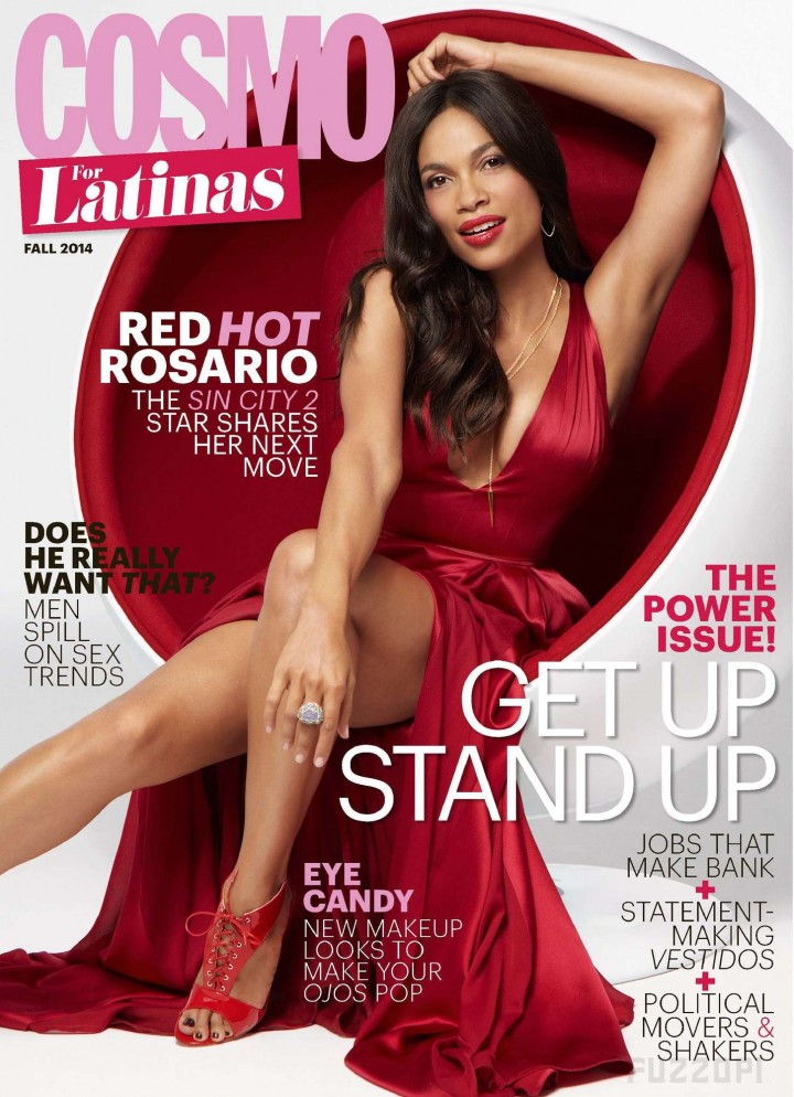 Rosario Dawson - Cosmopolitan for Latinas Magazine (October 2014)