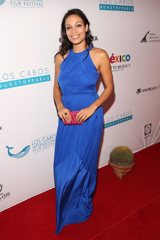 Rosario Dawson - Los Cabos International Film Festival Closing Night Gala in Cabo San Lucas