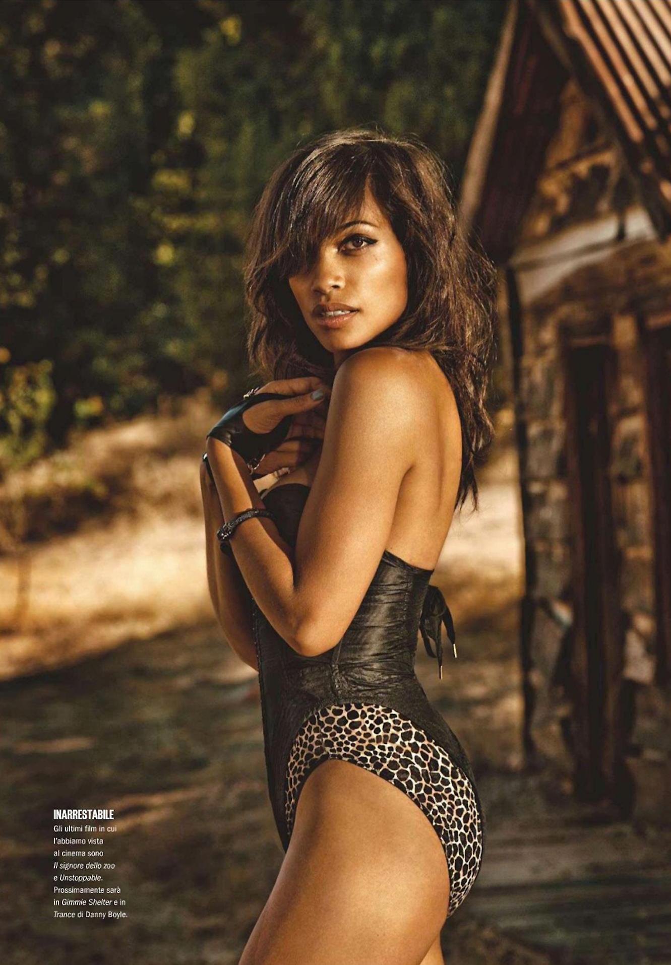 Hot Rosario Dawson nude photos 2019