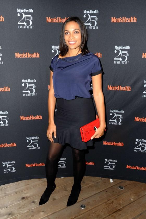 Rosario Dawson - Men's Health 25th Anniversary Celebration ...
