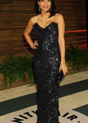 Rosario Dawson: Oscar 2014 - Vanity Fair Partyi-01