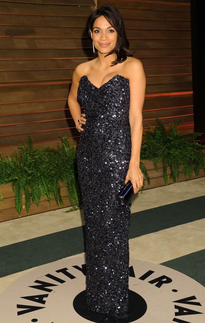 Rosario Dawson: Oscar 2014 - Vanity Fair Partyi-02