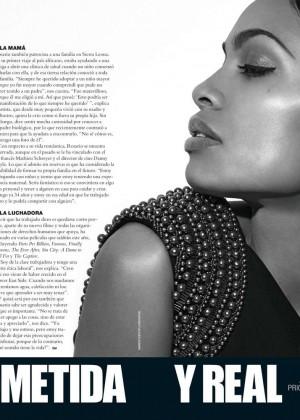 Rosario Dawson: Siempre Mujer Magazine -01