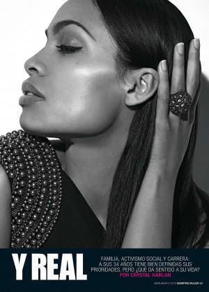 Rosario Dawson: Siempre Mujer Magazine -03