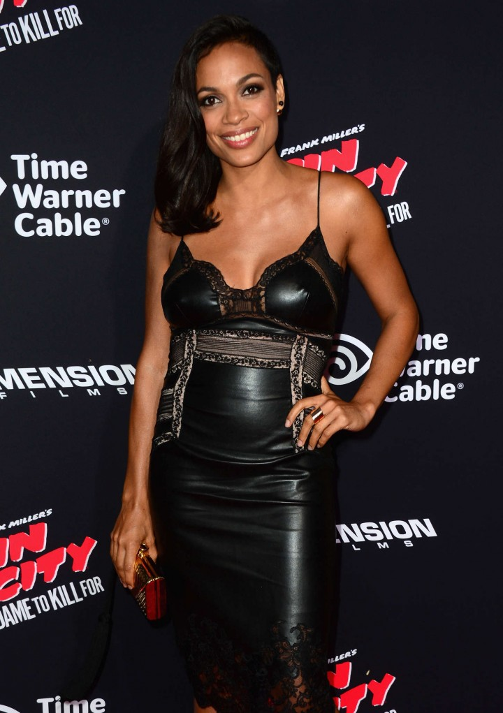 "Rosario Dawson - Premiere ""Sin City A Dame To Kill For"" in LA"