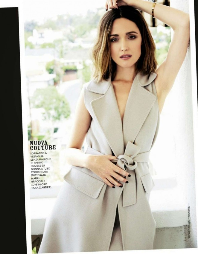 Rose Byrne - Grazia Italy Magazine (November 2014)