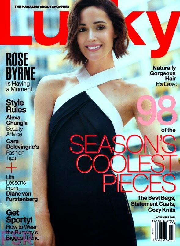 Rose Byrne - Lucky Magazine (November 2014)