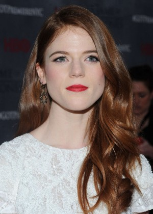Rose Leslie: Game of Thrones NY Premiere -02