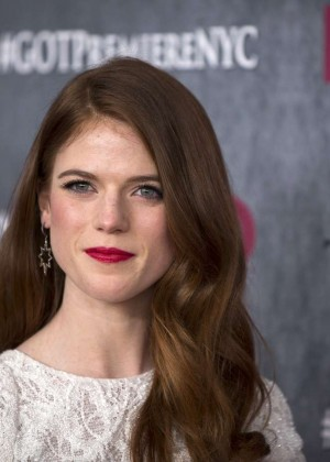 Rose Leslie: Game of Thrones NY Premiere -05