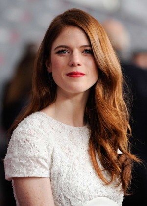 Rose Leslie: Game of Thrones NY Premiere -06