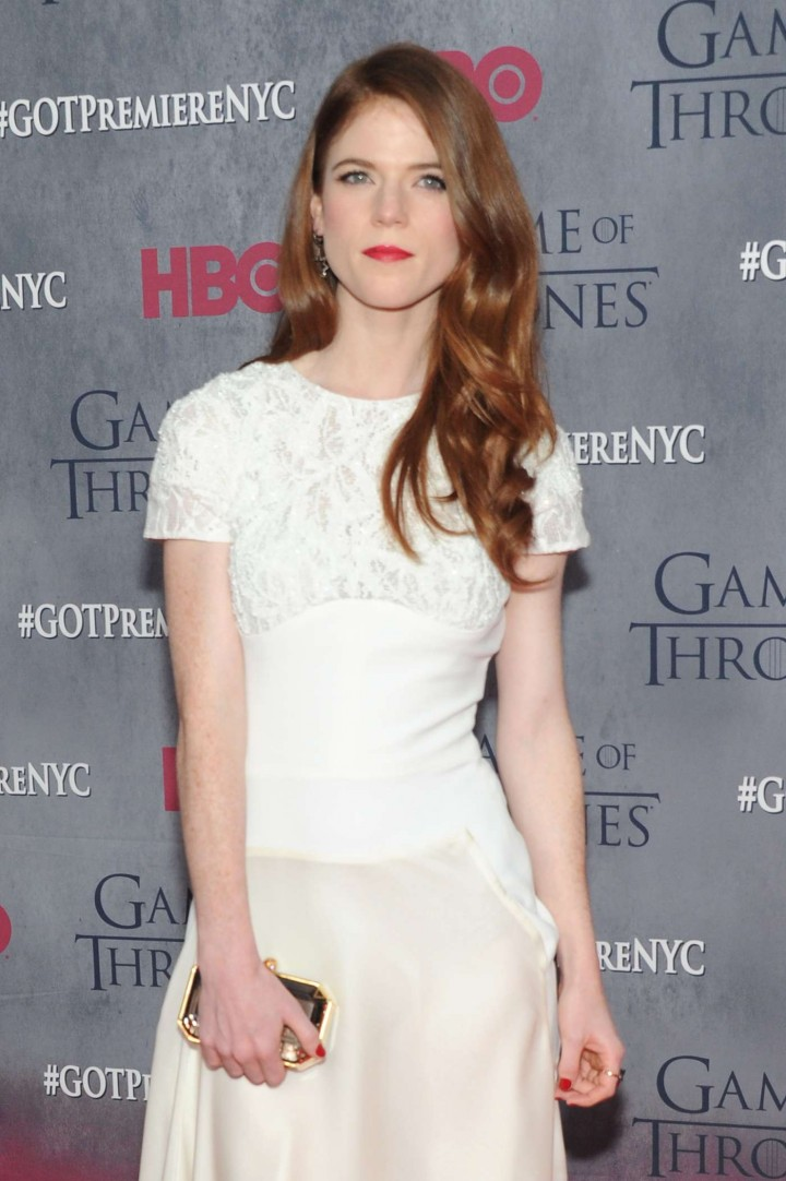 Rose Leslie: Game of Thrones NY Premiere -07