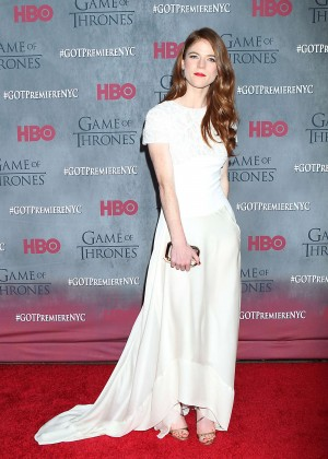 Rose Leslie: Game of Thrones NY Premiere -09