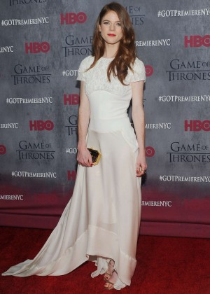 Rose Leslie: Game of Thrones NY Premiere -10