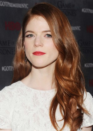 Rose Leslie: Game of Thrones NY Premiere -11