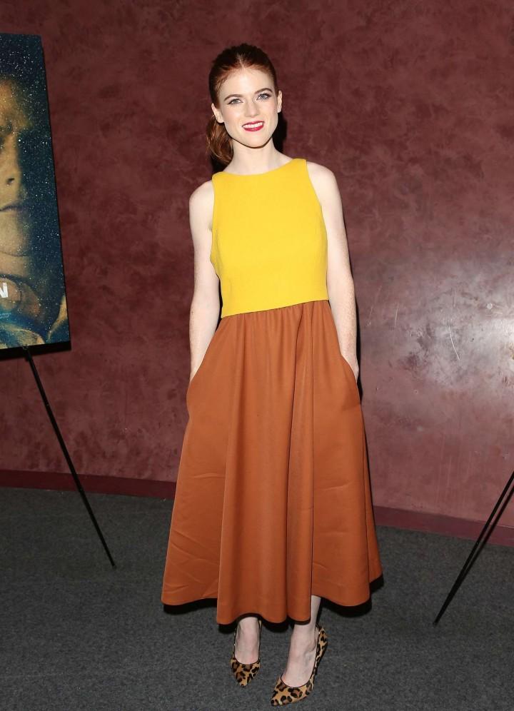 """Rose Leslie - """"Honeymoon"""" Premiere in LA"""