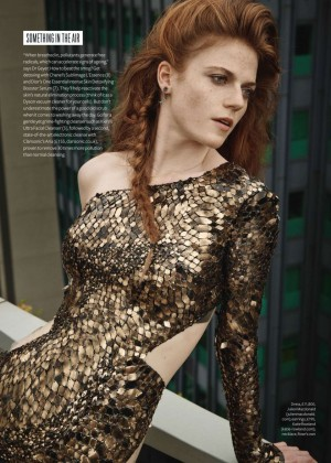Rose Leslie - InStyle UK Magazine (November 2014)