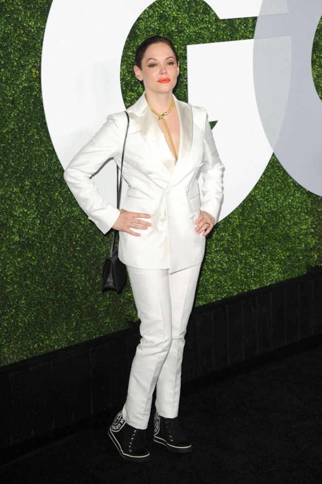 Rose McGowan - 2014 GQ Men of the Year Party in Los Angeles