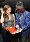 Rose McGowan at Commando The Autobiography of Johnny Ramone -03