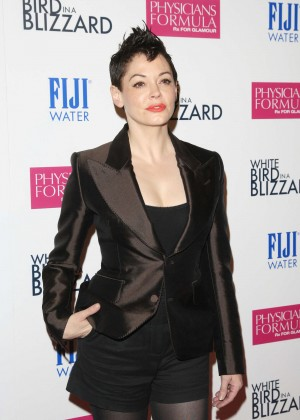 "Rose McGowan - ""White Bird in a Blizzard"" Premiere in Los Angeles"