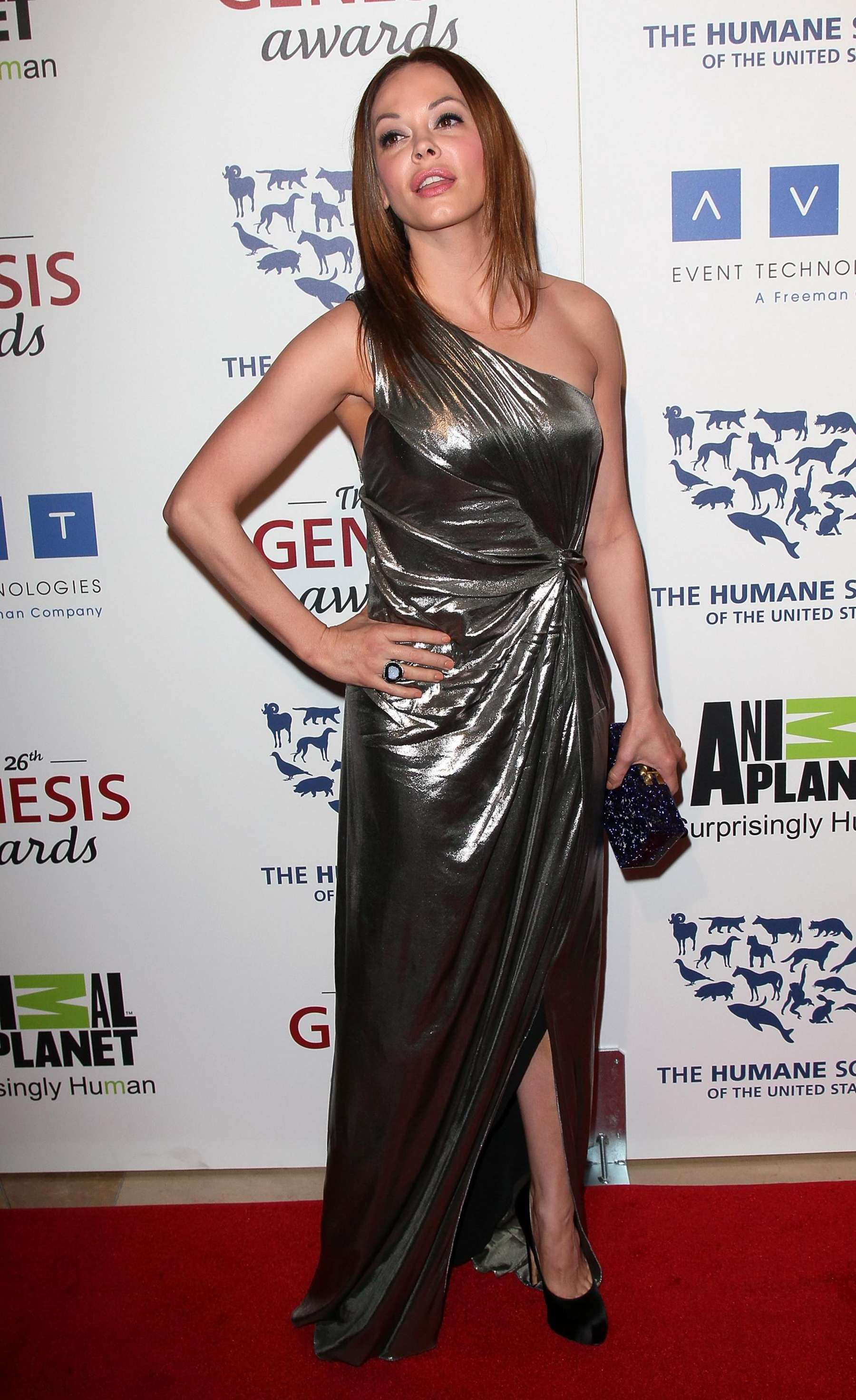 Rose McGowan at 2012 Annual Genesis-10