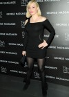 Rose McGowan in short dress at Charity Meets Fashion Holiday Celebration in New York